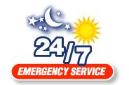 24-7 emergency response